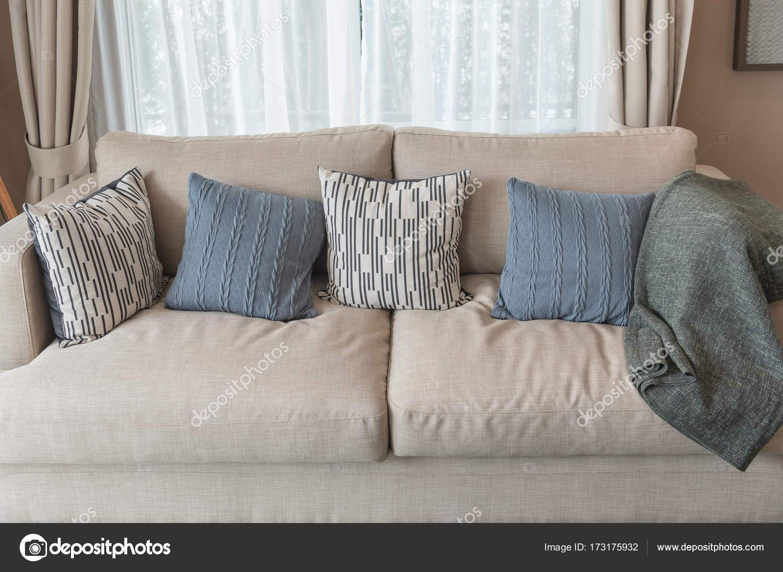 depositphotos stock photo modern living room style with