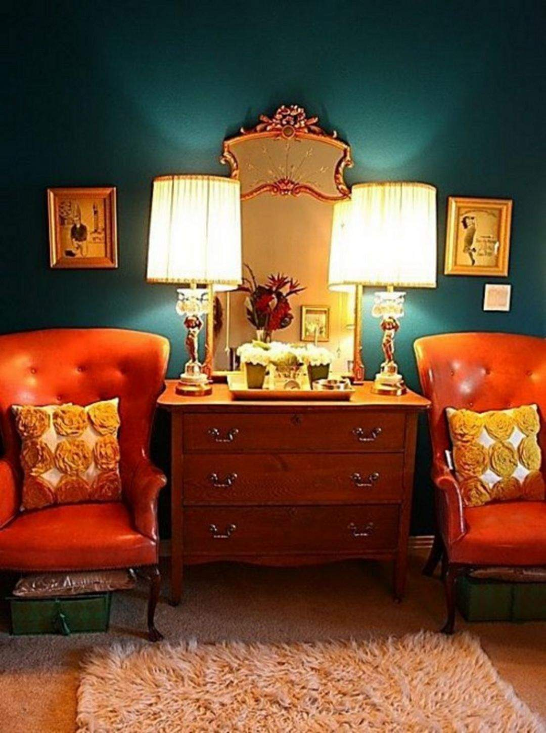 Wohnzimmer orange Luxus 50 Beautiful Wes anderson Decor Ideas to Make Eye Catching