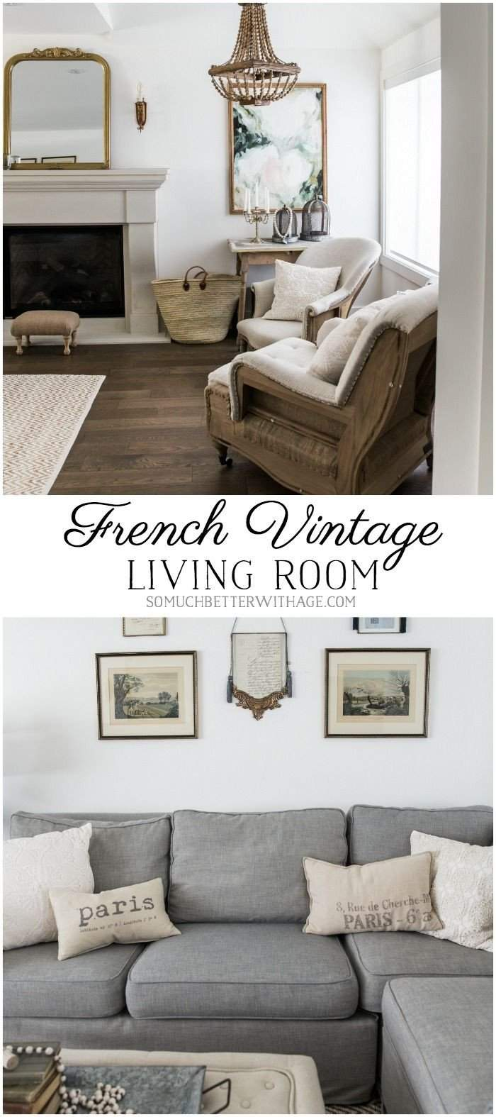 vintage living room decor awesome french vintage living room and foyer before and after of vintage living room decor